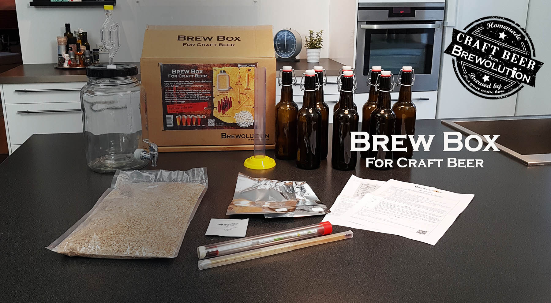 Brew Box - For Craft Beer