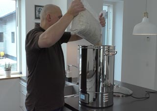 Home brewer