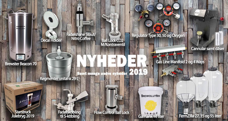 Nye produkter 2019